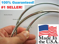 TRIM MOLDING  (made in the USA!)  CAR TRUCK SUV DOOR EDGE GUARDS CHROME