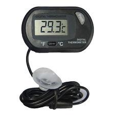 Digital LCD Fisch Aquarium Wasser Thermometer Temperatur Sensor Messgerät