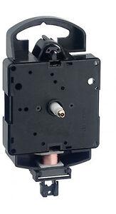 Quarz-Pendel-Uhrwerk Pendeluhrwerk Pendel Uhrzeiger Satz  Schwarz 89 mm ✔88