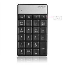 23 Keys Wireless 2.4G Nano USB Numeric Mini Keypad/Keyboard for iMac Laptop PC