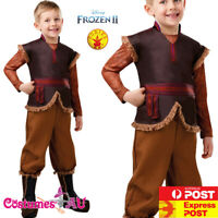 Deluxe Kristoff Boys Fancy Dress Disney Frozen 2 Fairy Tale Kids Costume Outfit