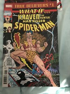 What If Kraven Had Killed Spider Man Reprint