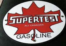Supertest  Gas Oil gasoline sign round