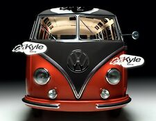 24 inch by 30 inch High Definition PHOTOGRAPH Poster 1953 VW Van VW Bus Front