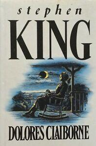 Dolores Claiborne 1992 Stephen King First Edition HC Hodder & Stoughton Rare FP