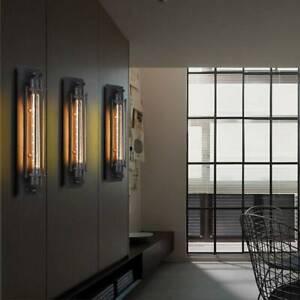 Außenlampe Antik Wandleuchte Vintage Industrie Käfig Wandlampe Zimmer