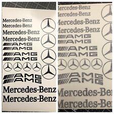 20pc Mercedes Benz AMG Assortment Vinyl Sticker Decal Logo Graphics Emblem