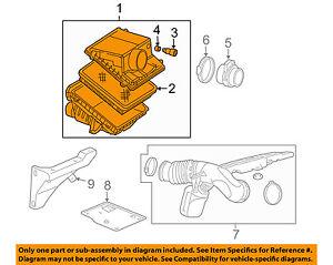 GM OEM Air Cleaner Intake-Filter Box Housing 23360000