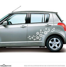 Daisy Flowers Car / Window / Wall Vinyl Stickers Bumper Decal 30pcs