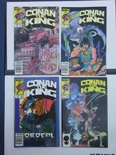 Conan The King Lot x18 20-51 VF Newstand Variants rare
