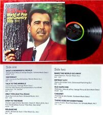 LP Tennessee Ernie Ford Woirld of Pop and Country Hits