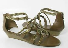 Lucky Brand Naraa Womens Brown Otter Gladiator Sandals Shoes 7.5 M