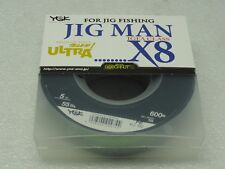 YGK JIG MAN IGFA CLASS X8 8 Braided PE 5 line SPECTRA #5 55lb 600m Made in Japan