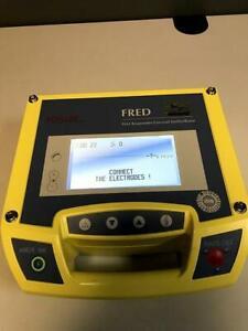 SCHILLER FRED Defibrillator AED trasportable Defi Defibrillation Laie