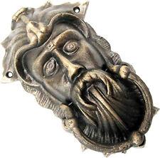 Türklopfer Antik Stil Krieger King König Gothik schwer Guss historisch Bronze