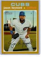 Jason Heyward 2020 Topps Heritage 5x7 Gold #427 /10 Cubs