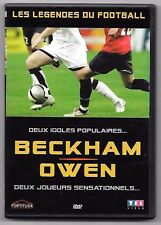 DVD FOOTBALL / BECKHAM , OWEN - LES LEGENDES DU FOOTBALL
