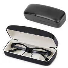 Square Eye Glasses Sunglasses Hard Case Box Portable Protector Holder Clam Black