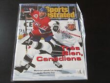 Sports Illustrated 6/14/93 Montreal Canadiens vs Kings Eric Desjardins