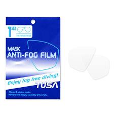 TUSA Freedom Film Anti-Fog Sheets for 2-Window Dive Masks