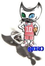 Pin + baloncesto + FIBA WM 2010 turquía + mascota #4