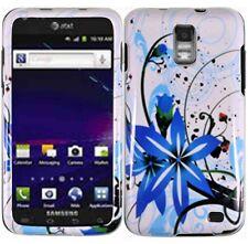 For Samsung Skyrocket Galaxy S II 2 HARD Case Snap On Phone Cover Blue Splash
