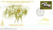1977 - FDC 1°JOUR - PREOLYMPIQUES.MOSCOU- SPORT.EQUESTRE-RUSSIE - TIMBRE Yt.4398