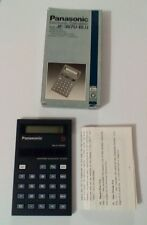 Retro Collectable Panasonic Electronic Calculator JE-367U-BLU
