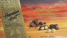 Hawaiian Host Aloha Gems, Chocolate Covered Premium Whole Macadamias 16 OZ (454g