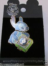 Disney Stitch with Record Player Pin