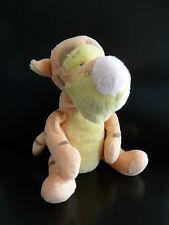 E4- PELUCHE DOUDOU TIGROU jaune/orange pale 28cms DISNEY BABY NICOTOY - TTBE !