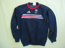 Sweat Adidas Vintage Equipe de France FFF Vintage Jersey Enfant - 12 ans