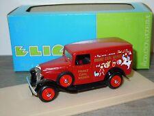 Citroen Camionnette 500 KG 1934 Franz Carl Weber van Eligor 1:43 in Box *26250