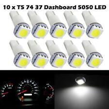 10x White Bright 12V LED Wedge Instrument Panel Light Bulb 37 73 74 For Toyota