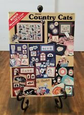 Dale Burdett MORE COUNTRY CATS Cross Stitch Book DB117 NEW