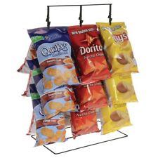 """Potato Chip Rack - 3 rows, 36 clips, Black, 14 1/2""""L x 9 1/2""""W x 24""""H"""