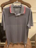 Nike Golf Tour Performance Dri-Fit Short Sleeve Polo Shirt Mens Large EUC