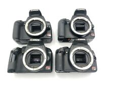Lot of 4 Canon EOS Digital Rebel DSLR Digital Camera's - Non Working- Parts Only
