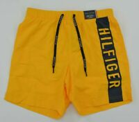 Tommy Hilfiger NWT RRP$110 Mens 2XL Spectra Yellow Drawstring Swim Board Shorts
