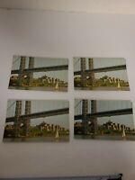 Vintage chrome postcards - 4 Columbia-Presbyterian Medical Center New York NY