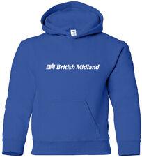 British Midland Vintage Logo British Airline Hoody