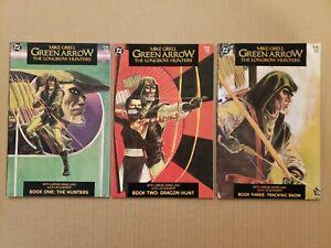Green Arrow Longbow Hunters #1(2nd print),2,3 Complete Lot of 3 1987 TPB VF/NM