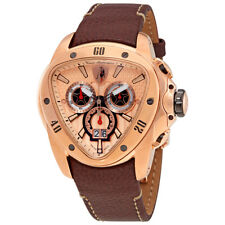 Lamborghini Spyder 1105 Chronograph Gold Dial Mens Watch 1105