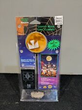 Lemax Spooky Town Halloween Lighted Moon 2004 Retired Original 44136