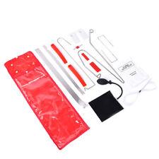12Pcs Car Door Key Lock Out Emergency Opening Unlock Tools Kit +Air Pump+Wedge