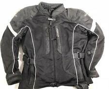 TourMaster black Sonora Air Jacket, 3/4 Mesh Jacket Size Men's Small