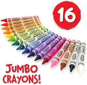 Crayola Jumbo Crayons 16-Color Set