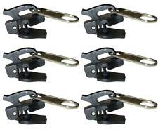6x Universal Instant Fix Zipper Repair Replacement Zip Slider Accessories Black