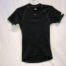Pearl Izumi PRO Series Base Layer Mens Small Short Sleeves Cycling Black Thermal
