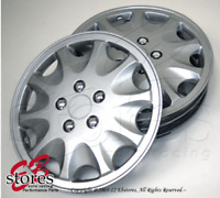 """4pcs Set of 15 inch Wheel Rim Skin Cover Hubcap Hub caps (15"""" Inches Style#028A)"""